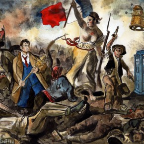 Somehow it seemed fitting to put the Doctor in the midst of the French Revolution.