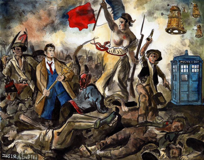 Liberty Leading the Doctor