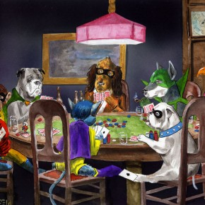 Having previously done DC superpets, I decided that Hannah Barbera super animals needed their own piece.