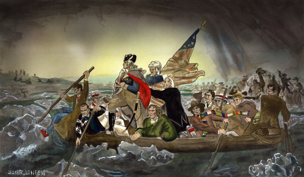 Whos Crossing the Delaware