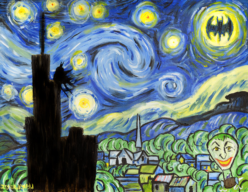 Dark Starry Night