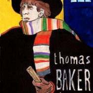 When the costume designer was working on Tom Baker's classic look, they used these posters by Toulouse Lautrec.