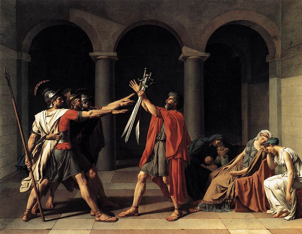 Jacque Louis David - Oath of the Horatii 1784