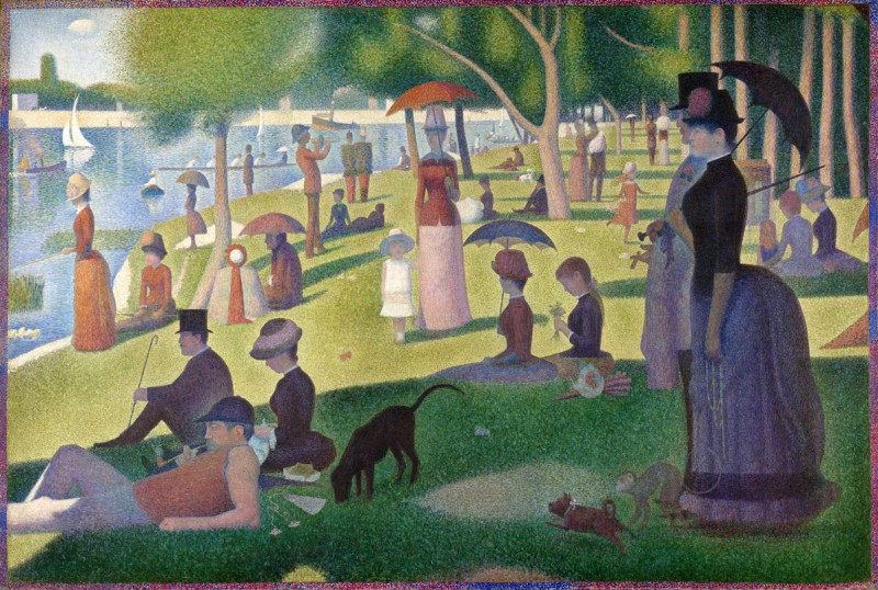 A Sunday Afternoon on the Island of La Grande Jatte by Seurat