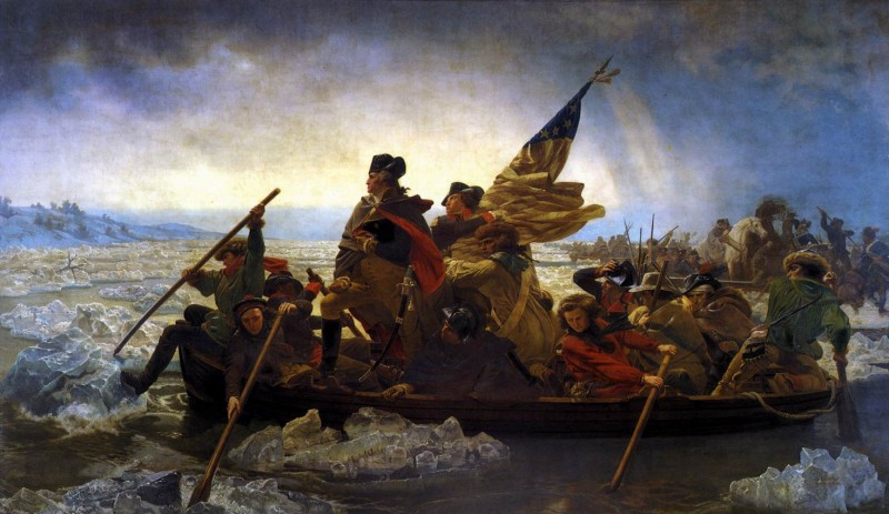 Emanuel Leutze - Washington Crossing the Delaware