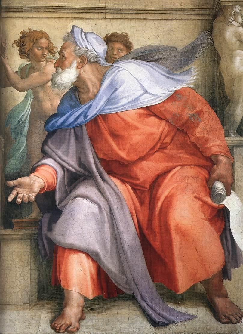 Michelangelo - Ezekiel