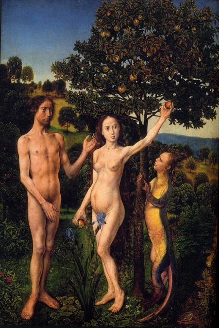 Hugo Van Der Goes - The Fall of Adam