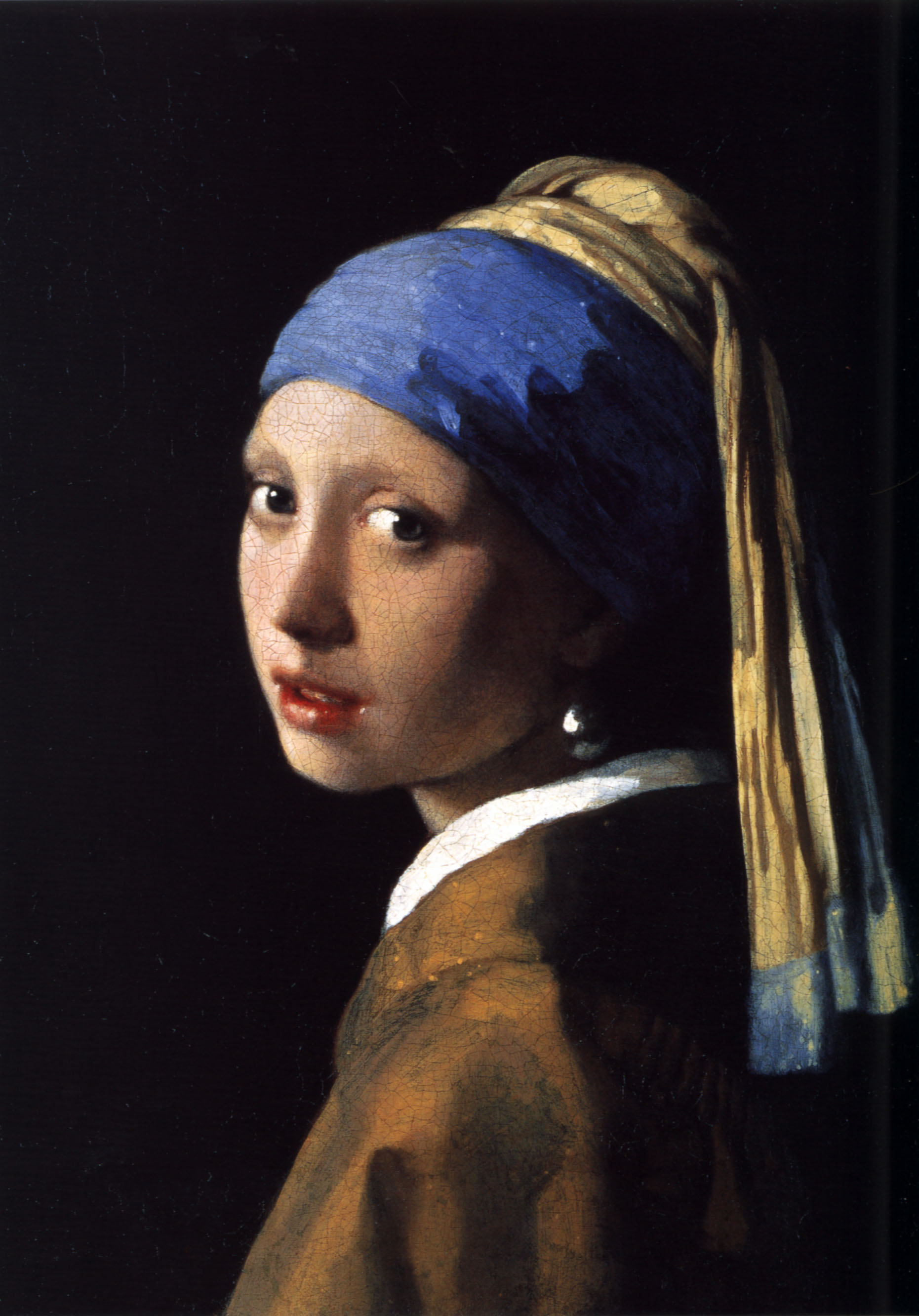 Johannes Vermeer - The Girl With The Pearl Earring 1665