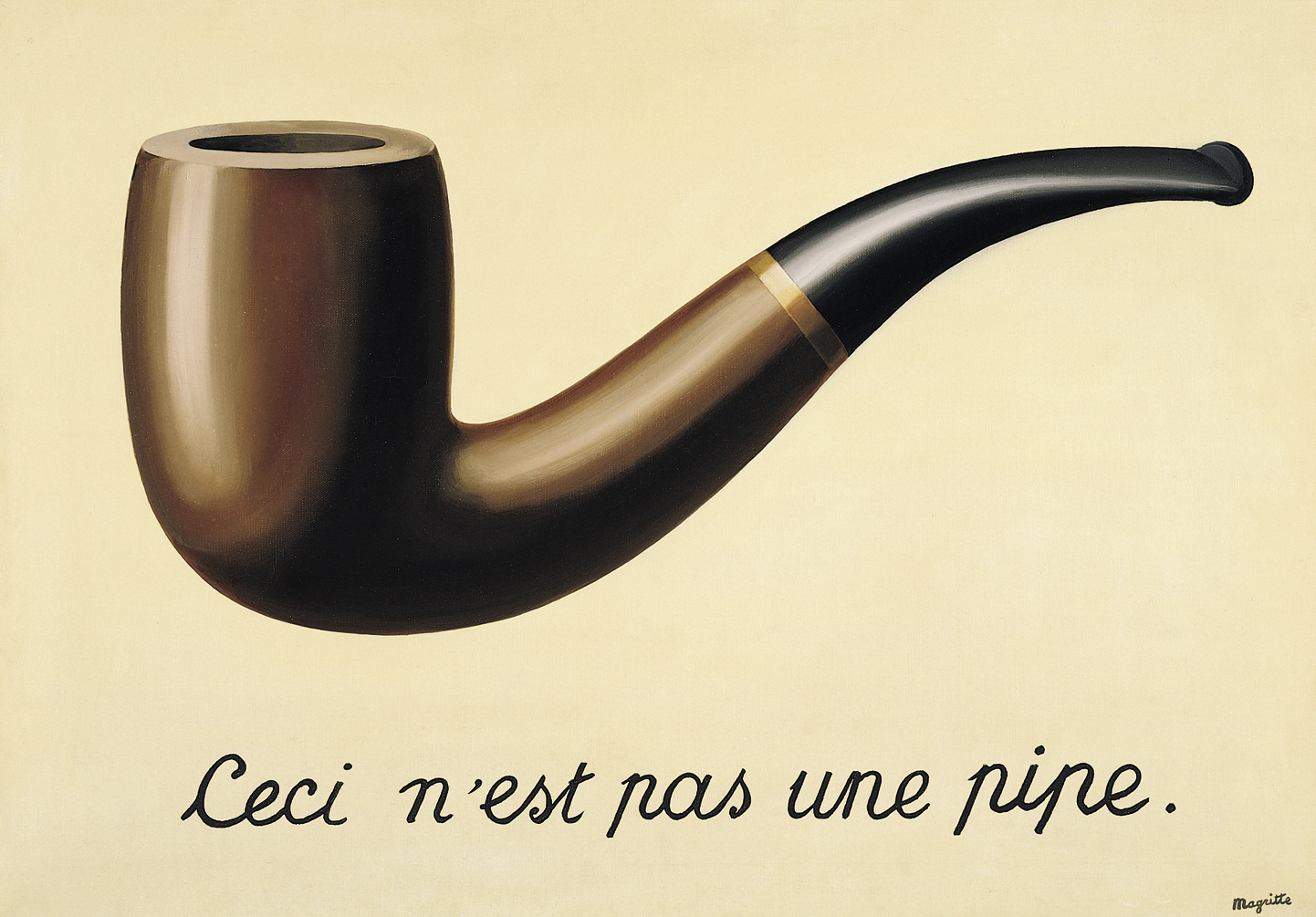 Rene Magritte - Treachery of Images