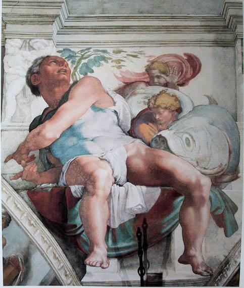 Michelangelo - Jonah