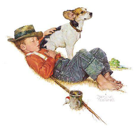 Norman Rockwell - Adventurers Between Adventures