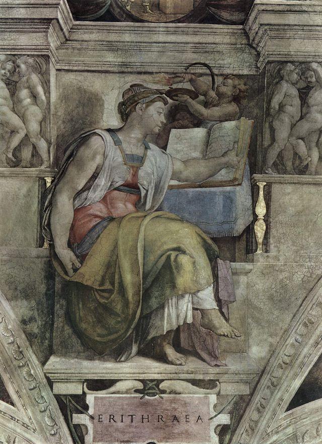 Michelangelo - Erthraean Sibyl