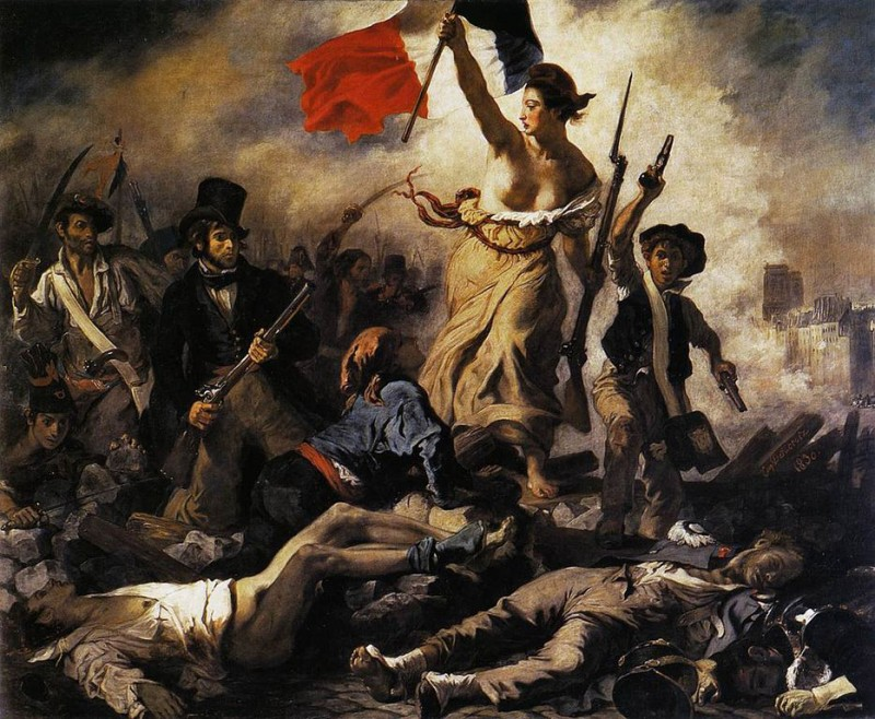 Eugène_Delacroix Liberty Leading the People (28th July 1830)