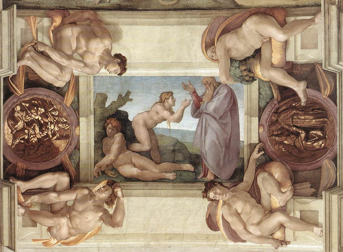 Michelangelo - The Creation of Eve