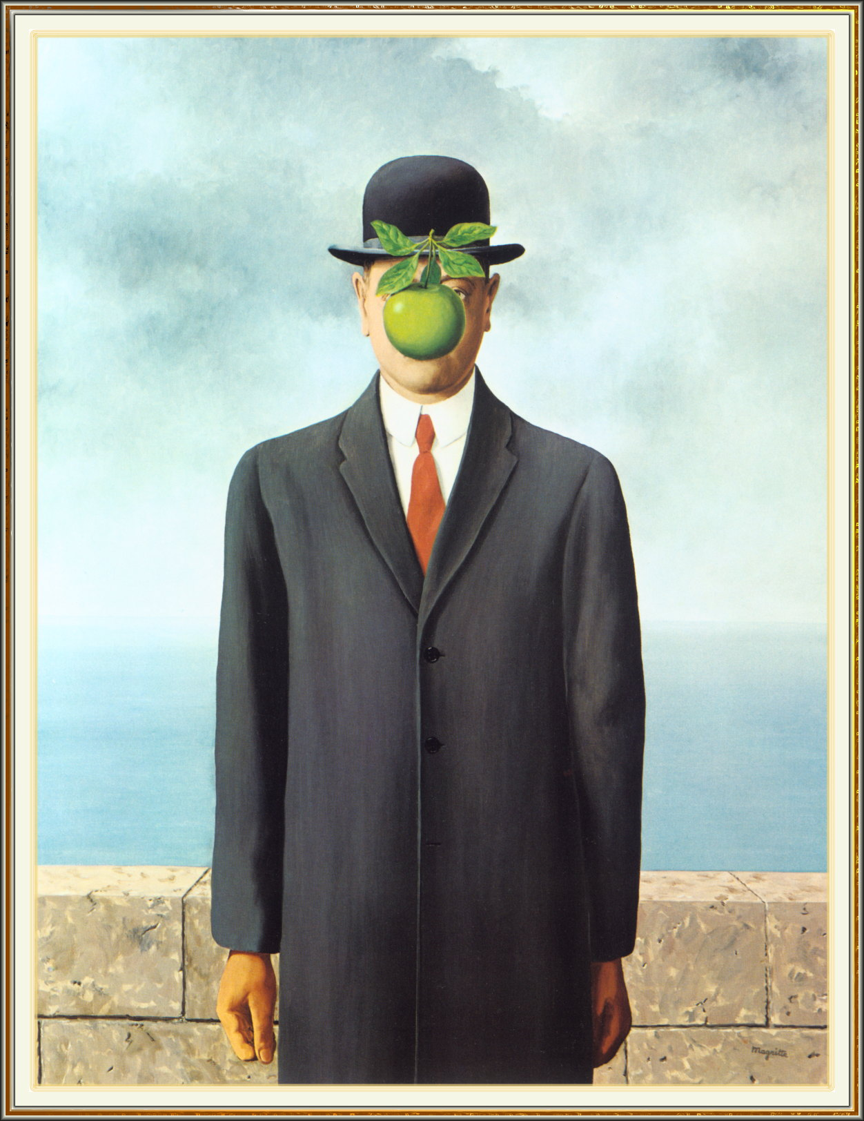Rene Magritte - Son of Man