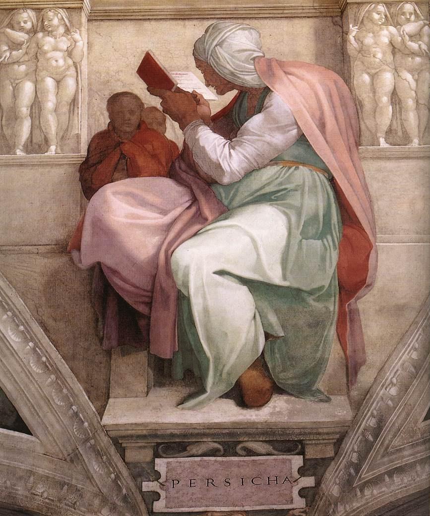 Michelangelo - Persian Sibyl