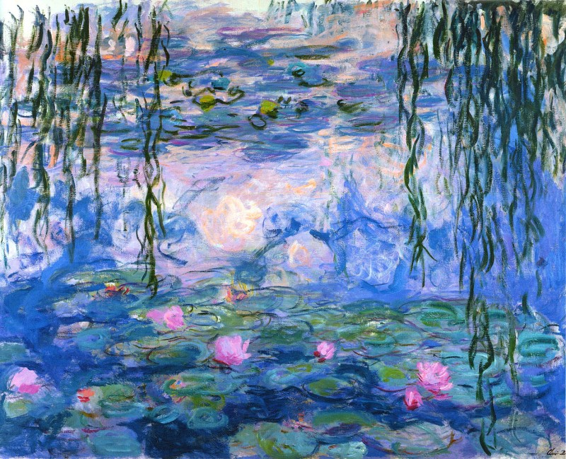 Claude Monet - Water Lilies 1919